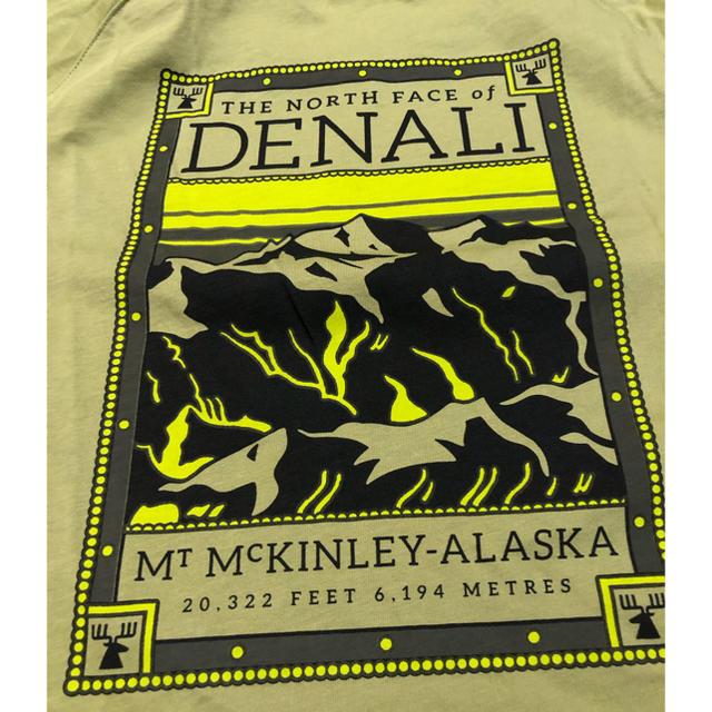 THE NORTH FACE(ザノースフェイス)のthe north face Tシャツ グリーン Mサイズ メンズのトップス(Tシャツ/カットソー(半袖/袖なし))の商品写真