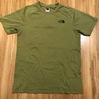 THE NORTH FACE - the north face Tシャツ グリーン Mサイズ
