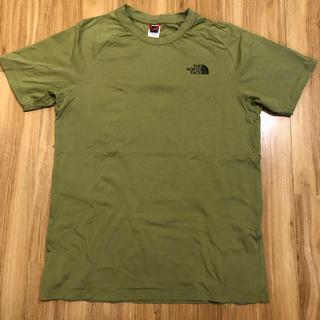 ザノースフェイス(THE NORTH FACE)のthe north face Tシャツ グリーン Mサイズ(Tシャツ/カットソー(半袖/袖なし))