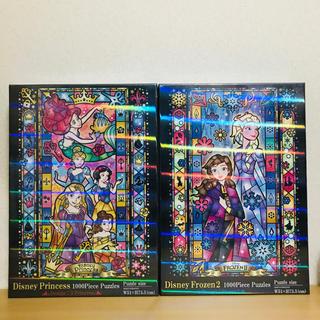 ディズニー(Disney)のアナ雪2 ディズニープリンセス 1000ピースパズル(その他)