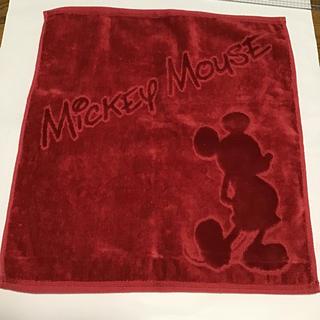 ミッキーマウス(ミッキーマウス)のミッキーマウス ハンドタオル ディズニー(タオル/バス用品)