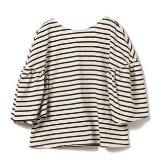 レイビームス(Ray BEAMS)のRay BEAMS🍒 ボーダー バルーン ショートスリーブ Tシャツ(Tシャツ(半袖/袖なし))