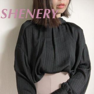 UNITED ARROWS - 今季¥12100【SHENERY】2wayシャツブラウス ボウタイブラウス
