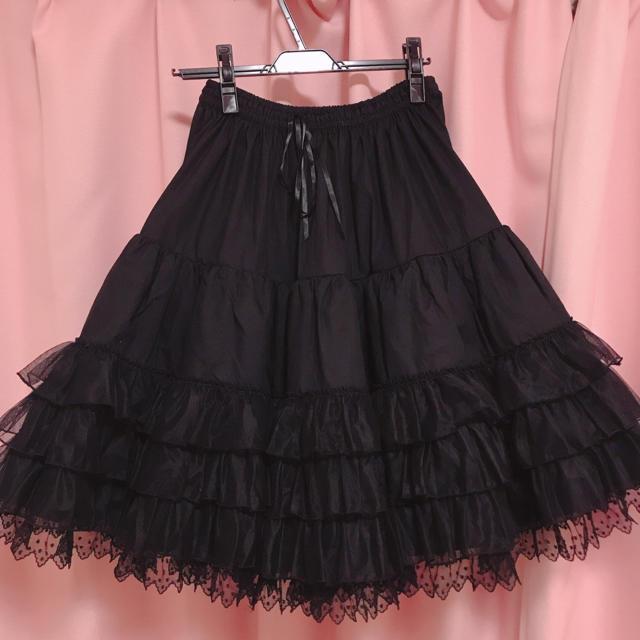 Angelic Pretty(アンジェリックプリティー)のAngelic Pretty プリンセスロングペチコート レディースのスカート(ロングスカート)の商品写真