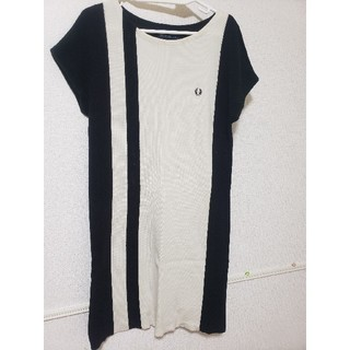 FRED PERRY - FRED PERRYニットワンピース美品