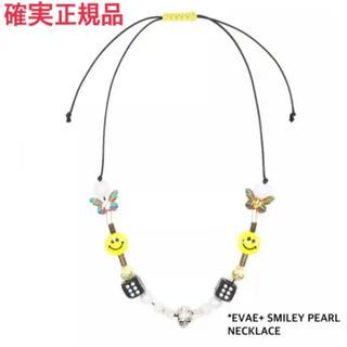 キャピタル(KAPITAL)のSALUTE サルーテ EVAE MOB +SMILEY ネックレス 美品(ネックレス)