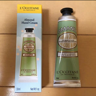 L'OCCITANE - 新品 ロクシタン アーモンド アマンドシェイプ スムースハンドクリーム 30ml