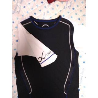ワコール(Wacoal)のワコールCW-X  ショートスリーブシャツ HAO155 Lサイズ(ウェア)