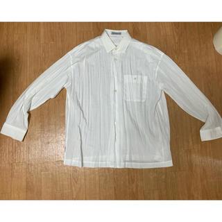 イッセイミヤケ(ISSEY MIYAKE)のissey miyake men 長袖シャツ ネクタイ付き(シャツ)