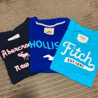 アバクロンビーアンドフィッチ(Abercrombie&Fitch)のアバクロ、ホリスター Tシャツセット(Tシャツ(半袖/袖なし))