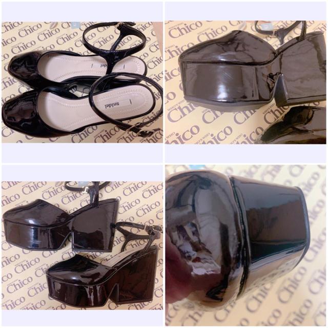 snidel(スナイデル)のsnidel アンクルストラップシューズ レディースの靴/シューズ(ハイヒール/パンプス)の商品写真