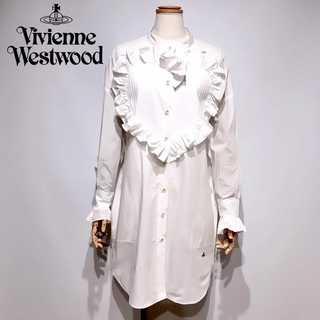 Vivienne Westwood - 新品タグ付き ヴィヴィアンウエストウッド ハート フリル シャツ ワンピース