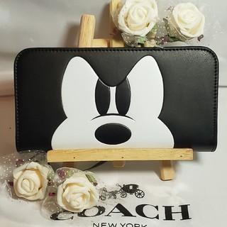 COACHミッキー財布