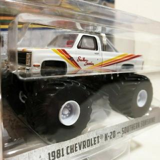 シボレー(Chevrolet)のGLグリーンライト/'81 Chevyシボレー K-20 1/64(ミニカー)