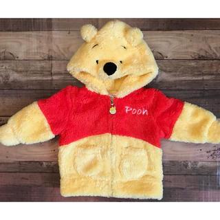 ディズニー(Disney)のお買い得♪可愛すぎっ♡クマのプーさん モコモコパーカー.ベビー.90サイズ(ジャケット/上着)