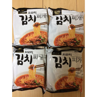 韓国 オモリキムチラーメン(インスタント食品)