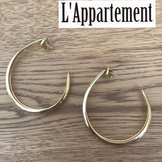 アパルトモンドゥーズィエムクラス(L'Appartement DEUXIEME CLASSE)のアパルトモン購入 ROBERT LEE MORRIS フープピアス(ピアス)