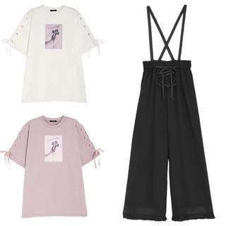 EATME - タイムセール0時まで☆EATME イートミー 3点 Tシャツ サロペット パンツ