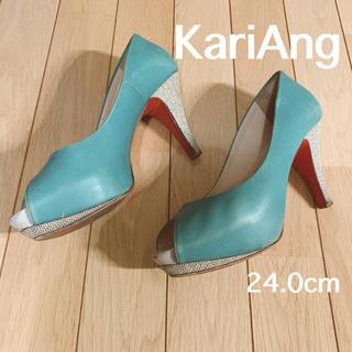 カリアング(kariang)のパンプス カリアング パンプス カラフル 24.0cm ハイヒール(ハイヒール/パンプス)