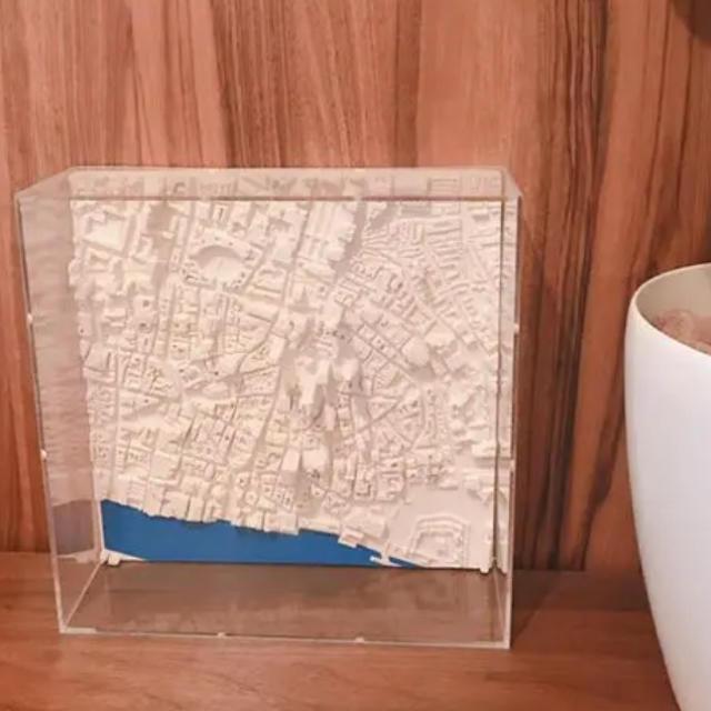 アート パネル パリ シティスケープ オブジェ  インテリア/住まい/日用品のインテリア小物(置物)の商品写真