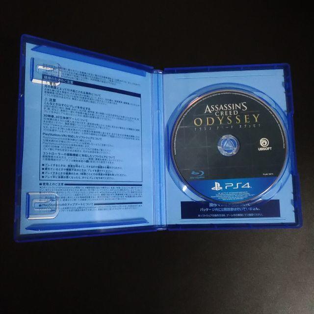 PlayStation4(プレイステーション4)のアサシン クリード オデッセイ PS4 エンタメ/ホビーのゲームソフト/ゲーム機本体(家庭用ゲームソフト)の商品写真