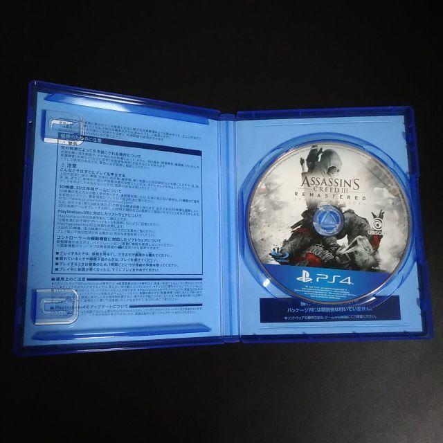 PlayStation4(プレイステーション4)のアサシン クリード3 リマスター PS4 エンタメ/ホビーのゲームソフト/ゲーム機本体(家庭用ゲームソフト)の商品写真