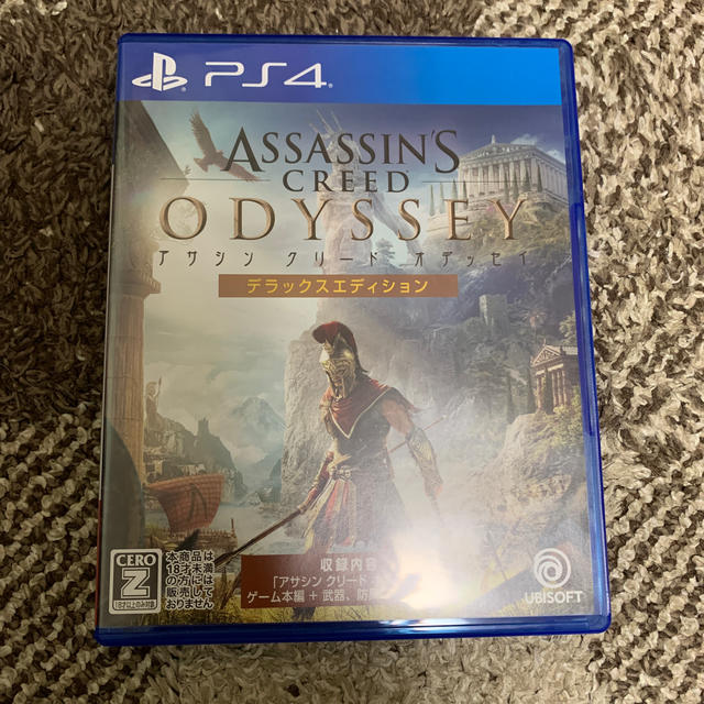 アサシン クリード オデッセイ デラックスエディション PS4 エンタメ/ホビーのゲームソフト/ゲーム機本体(家庭用ゲームソフト)の商品写真