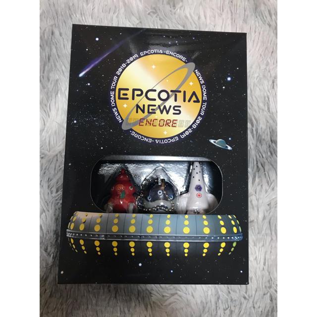 NEWS(ニュース)のNEWS EPCOTIA ENCORE  Blu-ray初回盤 エンタメ/ホビーのタレントグッズ(アイドルグッズ)の商品写真