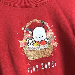 ピンクハウス(PINK HOUSE)の【新品】ピンクハウス×ポチャッコ トレーナー(トレーナー/スウェット)