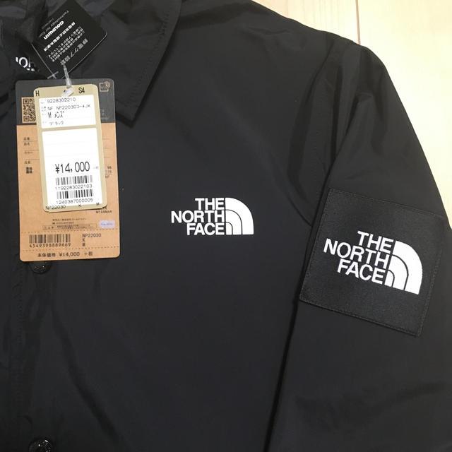 THE NORTH FACE(ザノースフェイス)の新品 ノースフェイス コーチジャケット ブラック メンズのジャケット/アウター(マウンテンパーカー)の商品写真