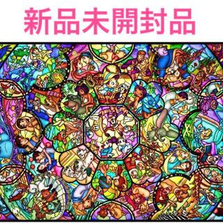 ディズニー(Disney)の【新品未開封】ディズニー オールスター ステンドグラス 1000ピース(その他)