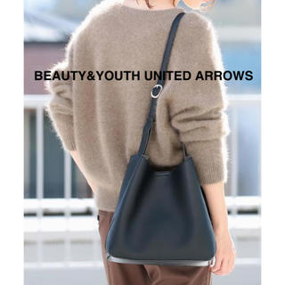 BEAUTY&YOUTH UNITED ARROWS - フェイクレザーミニソフトショルダーバッグ -2WAY