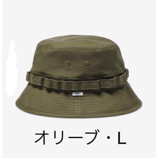 ダブルタップス(W)taps)のwtaps  20ss jungle hat Lサイズ オリーブドラブ vans(ハット)