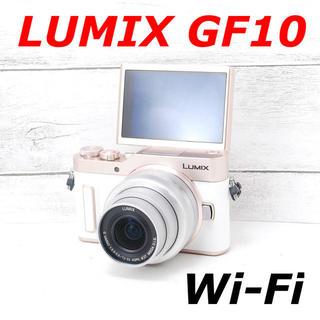 Panasonic - ❤️人気ホワイト❤️Wi-Fi&自撮り❤️LUMIX GF10