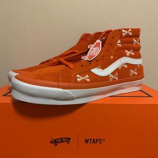W)taps - WTAPS x VANS OG SK8-HI LX 27.5cm オレンジ