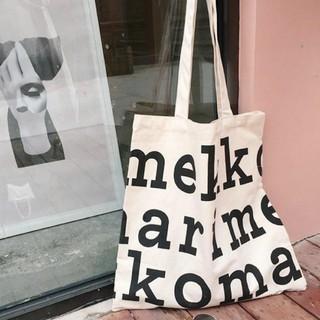 marimekko - *・'*.。.:*・゜゜・*新品 ☆【マリメッコ】☆トートバッグ ブラックロゴ