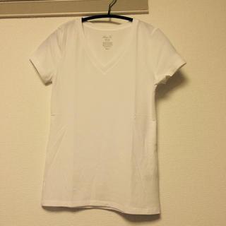 ジーユー(GU)のGU VカットT(Tシャツ(半袖/袖なし))