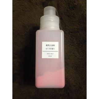 ムジルシリョウヒン(MUJI (無印良品))の薬用入浴剤 ローズの香り(入浴剤/バスソルト)