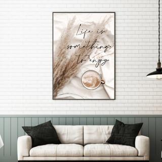 —C's poster— ハンドメイド ポスター インテリア モノトーン 北欧