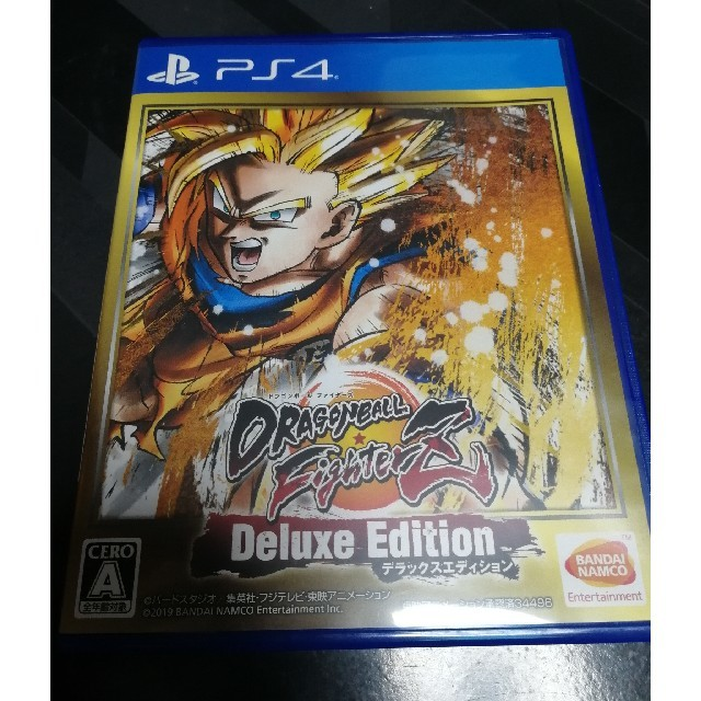 ドラゴンボール ファイターズ デラックスエディション PS4  エンタメ/ホビーのゲームソフト/ゲーム機本体(家庭用ゲームソフト)の商品写真
