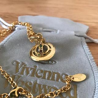 ヴィヴィアンウエストウッド(Vivienne Westwood)のネックレス ゴールド 刻印あり(ネックレス)