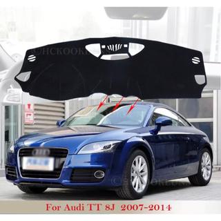 アウディ(AUDI)のアウディtt 8J 2007 〜 2014 MK2 ダッシュボードマット 新品(車内アクセサリ)