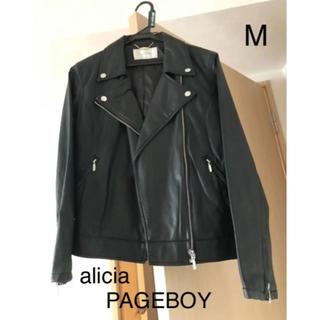 ページボーイ(PAGEBOY)のalicia  PAGEBOYライダースジャケット❤︎(ライダースジャケット)