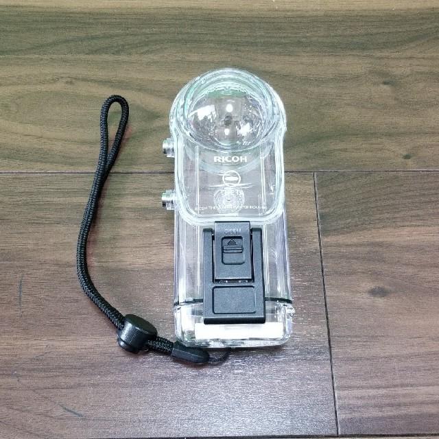 RICOH(リコー)の【土日限定価格】THETA 360° 水中ハウジングケース TW-1 30m防水 スマホ/家電/カメラのカメラ(その他)の商品写真