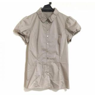 バーバリーブラックレーベル(BURBERRY BLACK LABEL)の美品バーバリーブラックレーベルシャツブラウス38(Tシャツ/カットソー(半袖/袖なし))