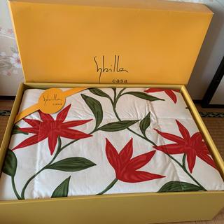 シビラ(Sybilla)の在庫2点 10月末まで最終価格 新品 シビラ 羽毛布団 肌掛けふとん(布団)