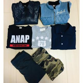 アナップキッズ(ANAP Kids)の男の子用洋服7点セット☆110cm☆まとめ売り(その他)