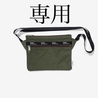 ダブルタップス(W)taps)の新品 Wtaps Sling Bag Nylon オリーブドラブ(ショルダーバッグ)