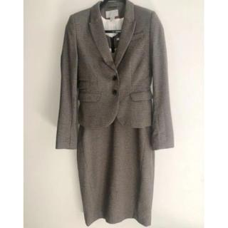 エイチアンドエム(H&M)のH&M レディース  スーツ ワンピース チェック(スーツ)