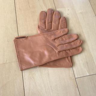 ムジルシリョウヒン(MUJI (無印良品))のレディス/レザー手袋(手袋)